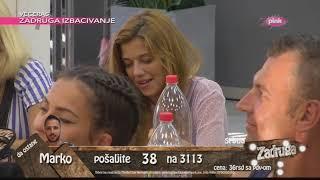 Zadruga - Sloba priznao da je njega Luna zavodila a da je on naseo - 20.05.2018.