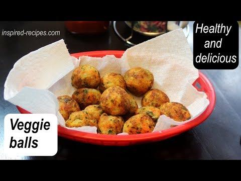 Vegetable  balls (yummy snack!)