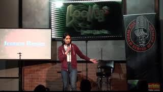 Jessica Rosas at Loonee's Comedy Corner in Colorado