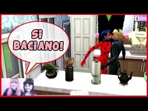 Creiamo LadyBug e ChatNoir! (The Sims 4) DIVERTENTE thumbnail