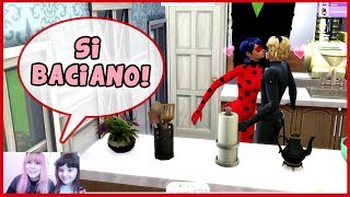 Creiamo LadyBug e ChatNoir! (The Sims 4) DIVERTENTE
