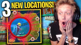 3 *NEW* SECRET LOCATIONS ADDED to Fortnite: Battle Royale! (SEASON 3 UPDATE)