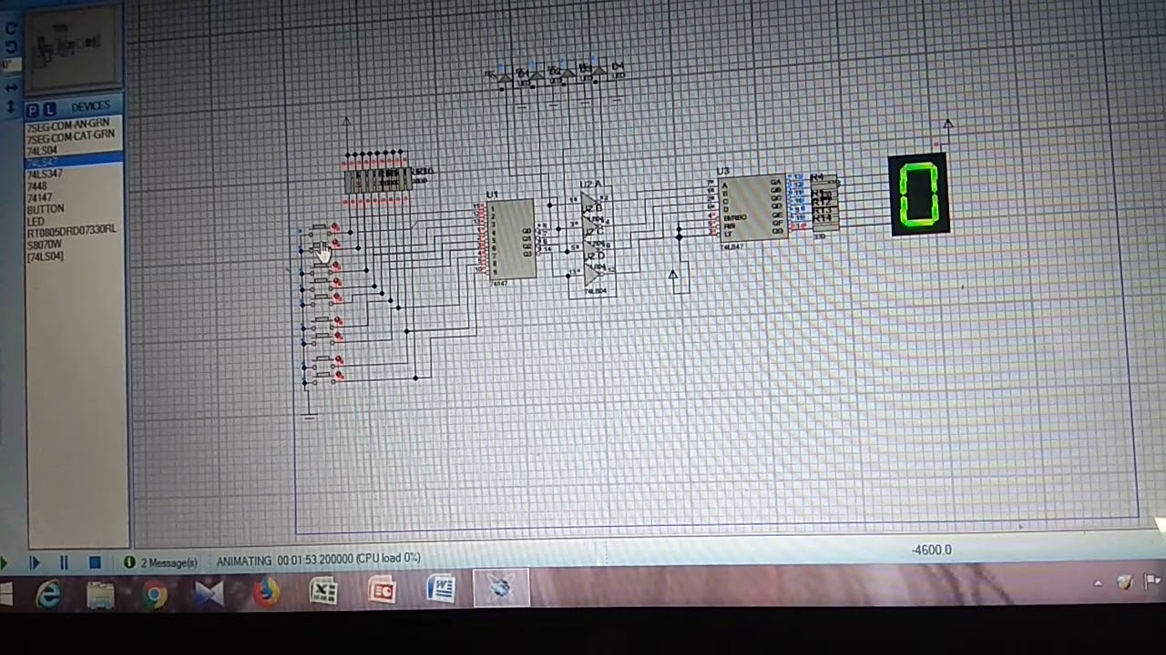 Keypad decoder using switches