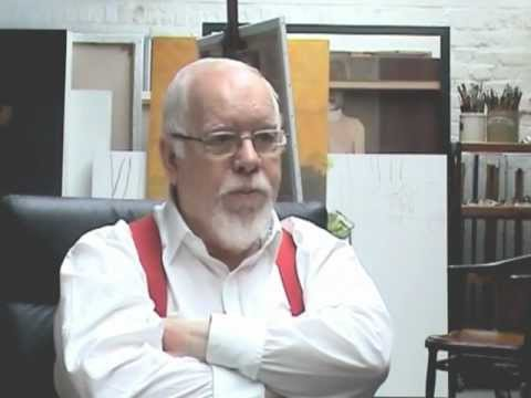 Sir Peter Blake gives advice to artists