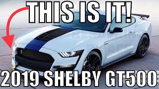 GETTING 2019 Shelby GT500 Details from FORD and seat time in the 2019 Bullitt Mustang AT NAIAS 2018!