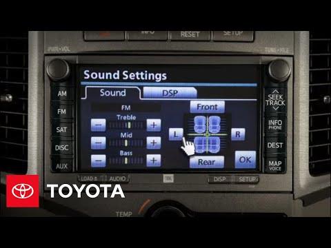 2012 Venza How-To: Adjusting Sound | Toyota