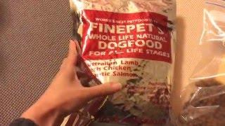 2015.11 ルフィに与えているドッグフードの動画。 ブリーダーさんがサイ...