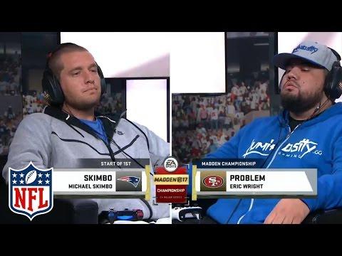 """Madden NFL 17 Championship """"Problem"""" vs. Skimbo   Gameplay Highlights   NFL"""