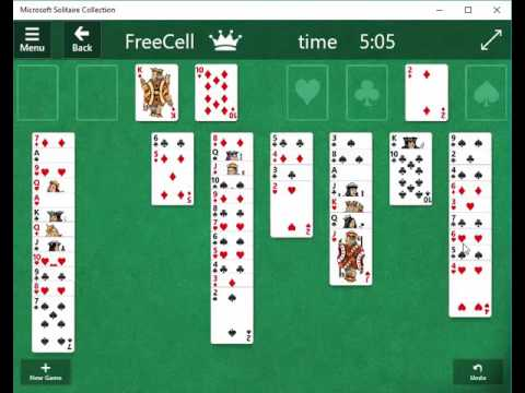 Freecell Spiel
