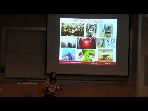CS231n Winter 2016: Lecture1: Introduction and Historical Context