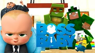 Minecraft Hello Neighbour - THE BOSS BABY BREAKS IN!