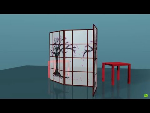 Folding screen demo