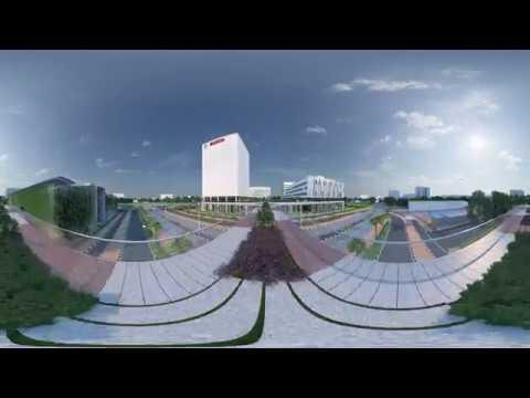 Bosch Adugodi Campus - 360° VR Interactive Video