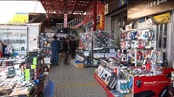 Second Hand Electronics For Sale At Yongsan Flea Market In Seoul, South Korea