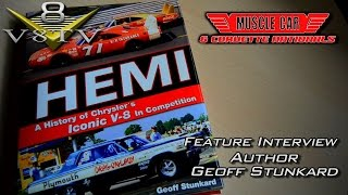Author Interview:  Geoff Stunkard from 2015 Muscle Car and Corvette Nationals Video V8TV