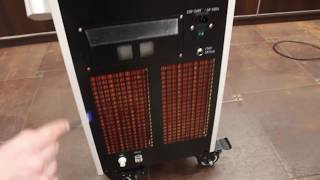 Обзор длиноимпульсного неодимового лазера HANTER Часть 1