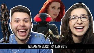 Aquaman - Official Trailer 1 - Reaction!!!