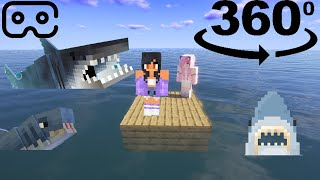 360° POV: you're Kawaii Chan helping APHMAU get unstuck on her ONE BLOCK RAFT!