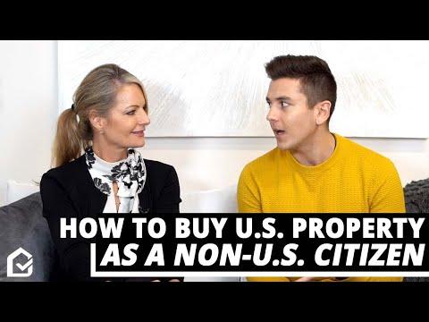Get A U.S. Mortgage As A Non-U.S. Citizen