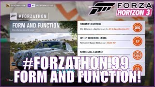 Forza Horizon 3 #FORZATHON 99: Form and Function!