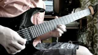 薔薇乙女 Rozen Maiden - Battle Of Rose (metal guitar cover) - Video Playthrough