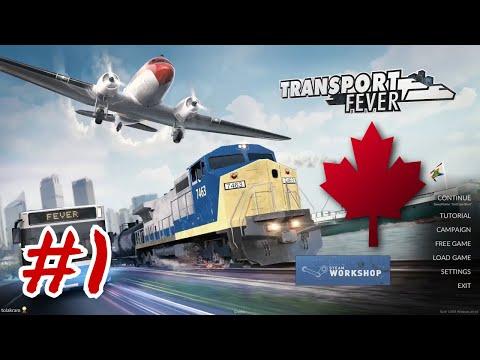 Let's Play Transport Fever - Fraser Valley | 01