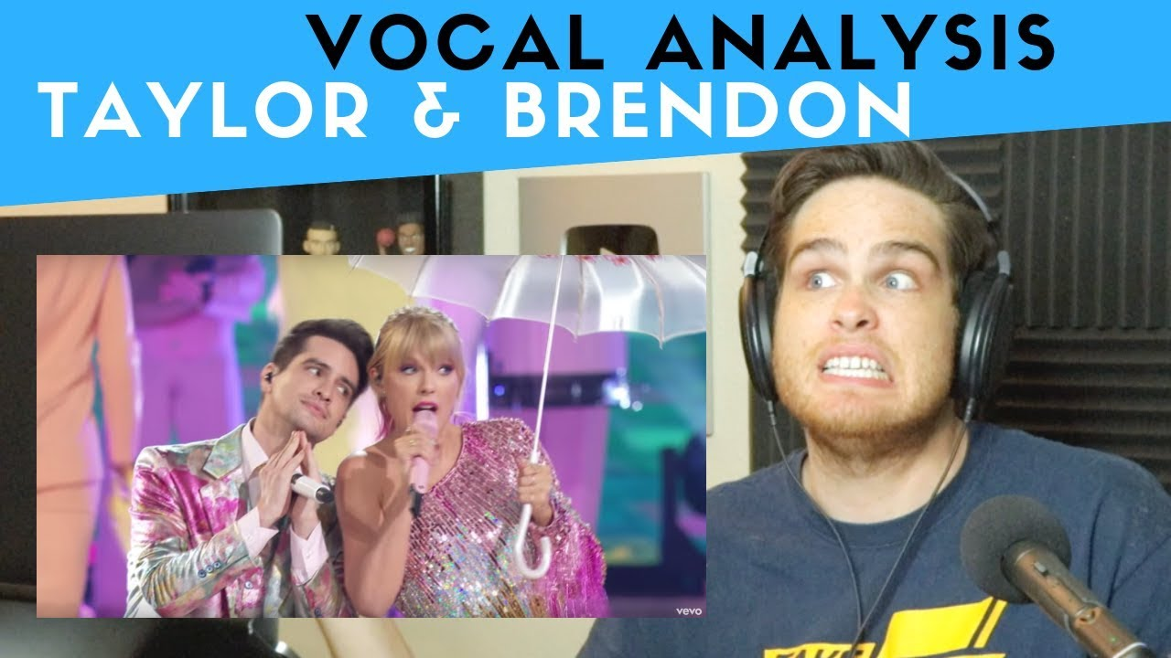 Download Vocal Analysis of Taylor Swift and Brendon Urie Performing ME! LIVE!