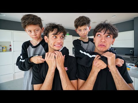 MINI LUCAS AND MARCUS ATTACKED US!