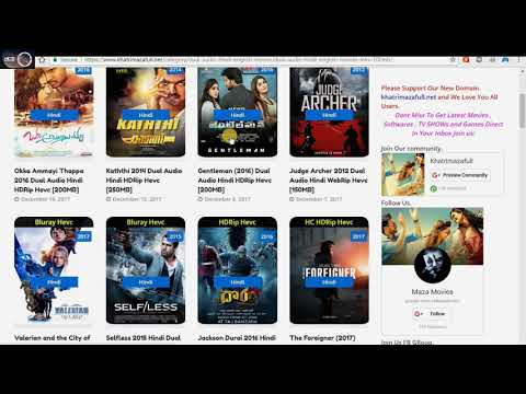 How To Download All HD Movies In Just 100MB Urdu/hindi