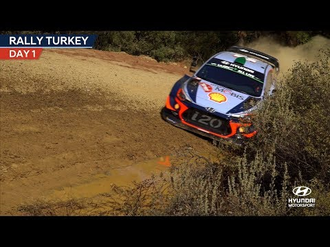 Rally Turkey Day One - Hyundai Motorsport 2018