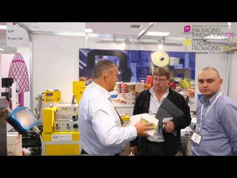 Packaging News 1 minute trip round Packaging Innovations London 2015.  Metropolis Multimedia.