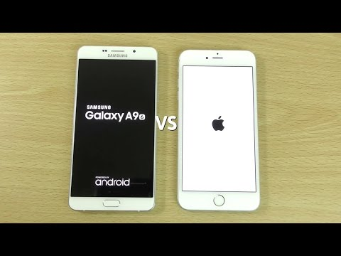 Samsung Galaxy A9 VS iPhone 6S Plus - Speed & Camera Test!