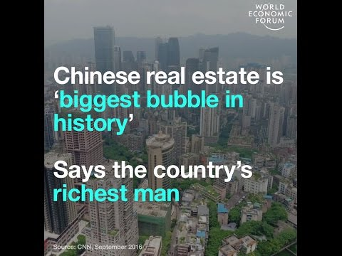 Chinese real estate is 'biggest bubble in history'