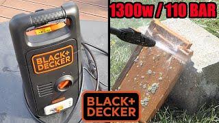 nettoyeur haute pression black et decker lidl 1300w 100 bar + PARKSIDE PHD 150
