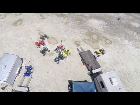 Quad copter footage at Beverly WA, ORV park