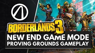 BORDERLANDS 3 | New End Game 'Proving Grounds' Gameplay w/ FL4K