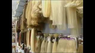 видео Откуда берут волосы для наращивания?