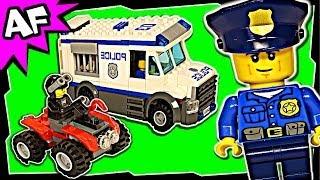 lego city police prisoner transporter 60043 stop motion build review