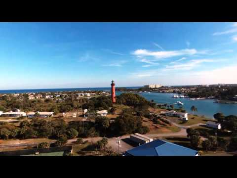 Jupiter Lighthouse & Inlet Panoramic Florida