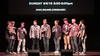 A Capella Rush Concert - September 8th, 2018