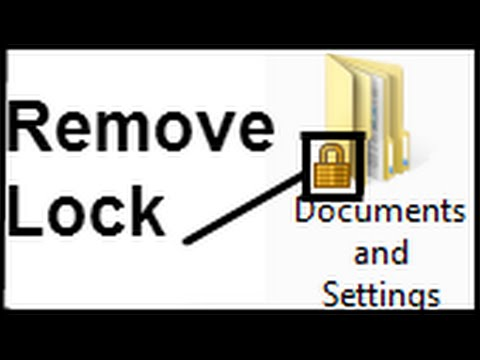 How To Remove Lock From A Folder