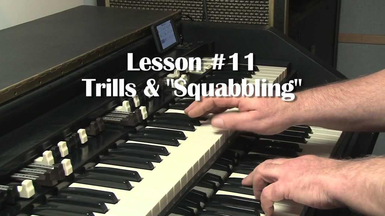 Hammond organ licks
