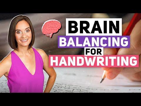 Brain Balancing and Handwriting Exercise