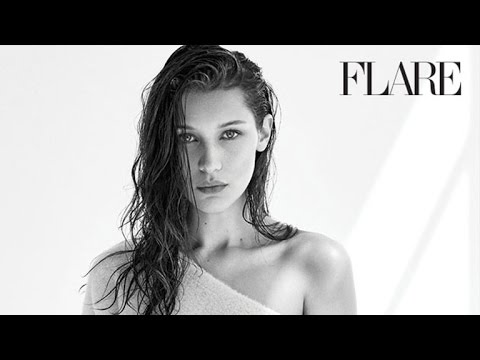 Bella Hadid Goes Topless, Shows Off Her Sultry Side