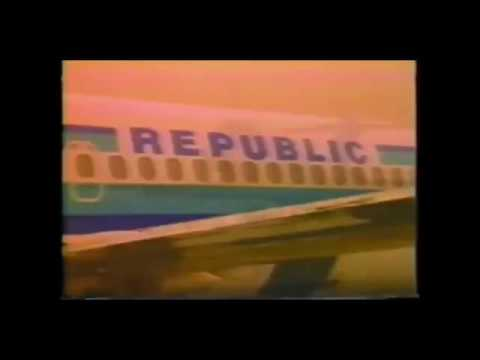 1982 Republic Airlines Commercial