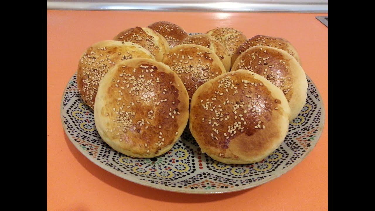El arte de la cocina árabe - Bollos de leche con sésamo - YouTube