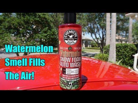 Chemical Guys Watermelon Snow Foam Review on my Nissan GTR.