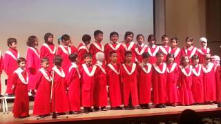 Choral speaking by TICP preschoolers