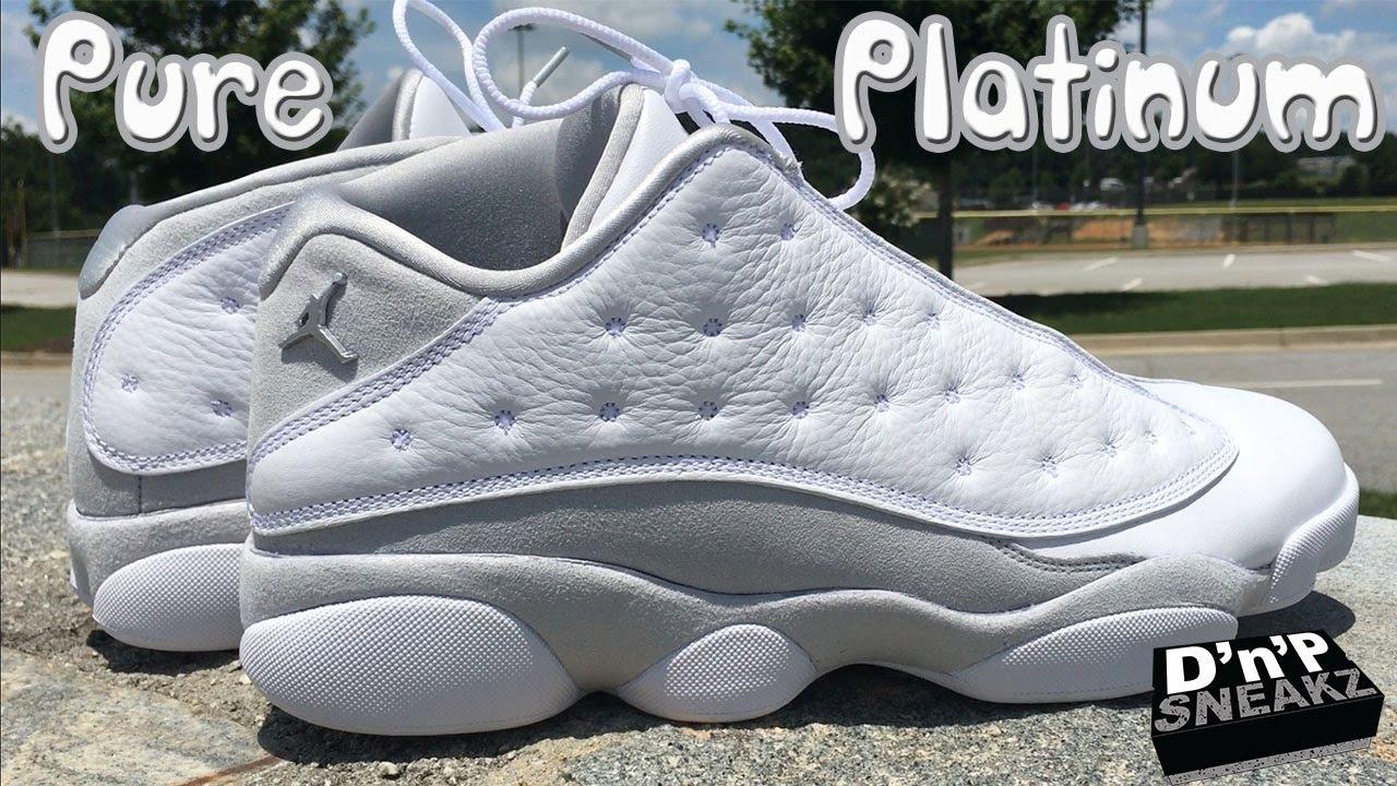 Air Jordan 13 Retro Low  Pure Platinum