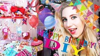 видео как украсить комнату на день рождения